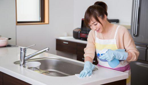 身近な洗剤やアイテムで台所の掃除がカンタンに!